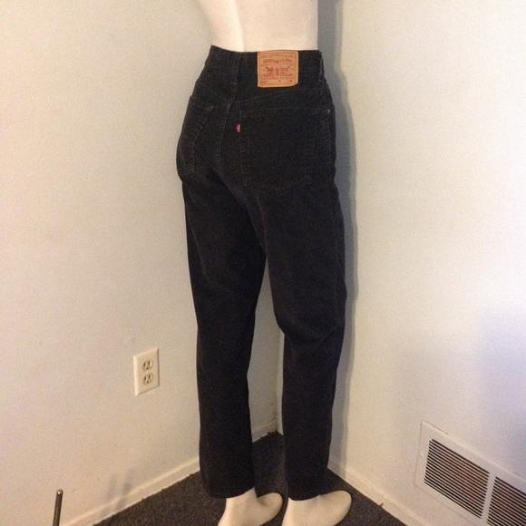 choose newest shop in stock Vintage High Waist Corduroy Mom Jeans Pants 8